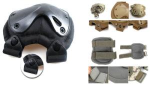 Напольные спорты сражают тактические воинские защитные Kneepads пусковых площадок локтя коленей