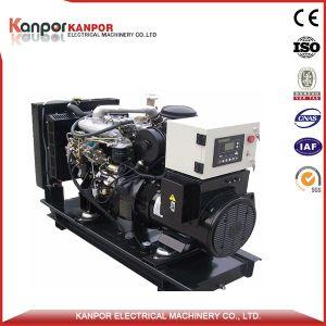 Motor Isuzu 24kw 30kVA (26,4kw 33kVA) gerador diesel para alimentação de emergência