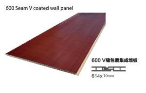 Le WPC Panneau mural pour matériau de construction de tuiles 600 mm