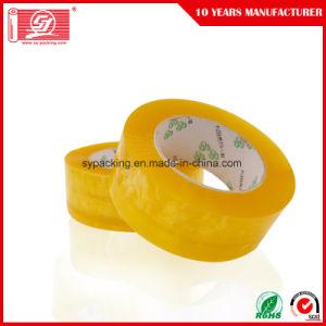 55mic adhesivo acrílico a base de agua clara BOPP cintas de embalaje 120 rollos en una caja de cartón