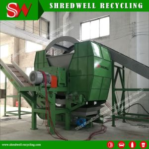 2017 Новая конструкция два вала системы для удаления отходов/ шин давление в шинах