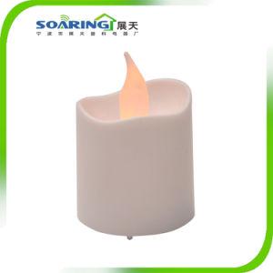Мигающий светодиодный индикатор Flameless с аккумуляторным питанием чай (ZT18005)