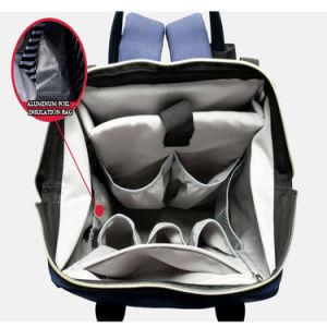 Sacchetto superiore del pannolino del sacchetto dello zaino del pannolino del bambino della mummia dello scompartimento dell'organizzatore