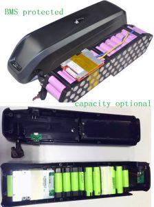 Grande batteria di litio della batteria 36V 17ah di Akku Hailong della E-Bici per le nuove celle di per-Panasonic del pacchetto della batteria di Downtube delle bici elettriche con il caricatore 2A nelle azione della Cina