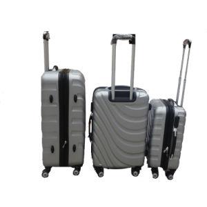 Loisir populaire sac chariot ABS Bagages coque rigide en ABS avec 4 roues