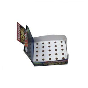 Envases de papel personalizados al por mayor de la caja de embalaje de bosque (019)