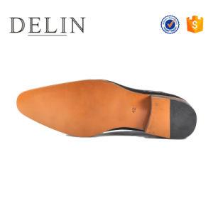 高品質の人の革履物の人の服靴