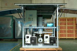 Wurzel-Drehleitschaufel-Vakuumpumpanlage für Transformator