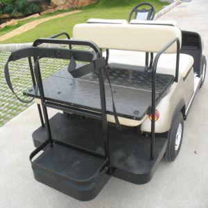 電池式の4つのシートのゴルフ車