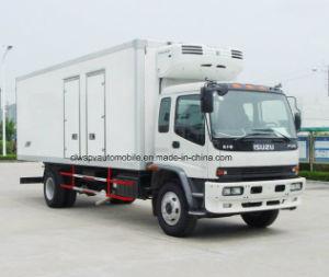 Isuzu продовольственной обновить транспортный грузовой автомобиль 4X2 8 T холодильник погрузчика