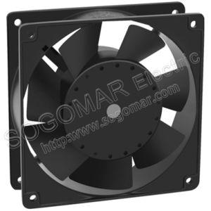 120x120x38mm de 4 pulgadas de 100% de cobre del panel de la bobina del ventilador para el enfriamiento de cocina