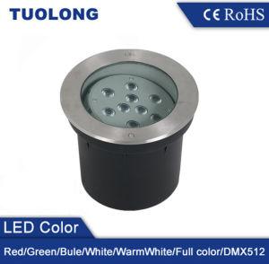 스테인리스 316 덮개 순수한 알루미늄 케이싱 옥외 램프 SMD LED IP67 18W LED 지하 빛