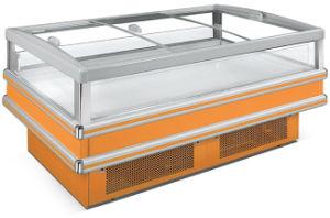 Tipo de Integrante da Ilha de Exibição de supermercado freezer (DG-25)