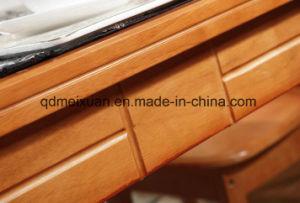 Твердый деревянный обеденный стол в гостиной мебели (M-X2859)