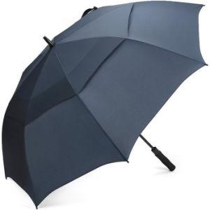 Оптовый автоматический двойной зонтик гольфа слоя 30inch Windproof