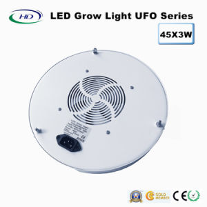 45*3W UFO LEDは医学のプラントのために軽く育つ