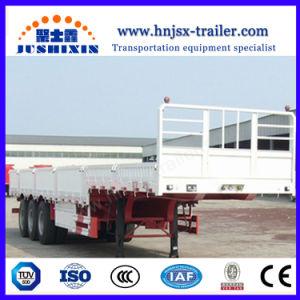 3 Wellen 50 Tonnen-Bulkladung-Traktor-seitlicher Vorstand/seitliche Wand/Zaun/Seitenwand-halb Schlussteil