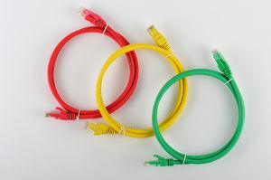 Venta caliente LSZH UTP Cat 5e Cable de conexión de cable de conexi n