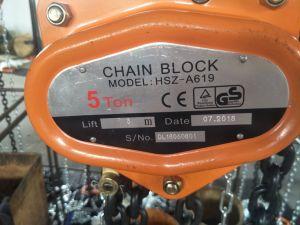 2tonne Vc-B bloc de la poulie de la chaîne à main