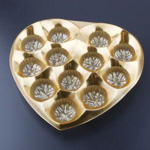 Imballaggio di plastica del cassetto del cioccolato su ordinazione