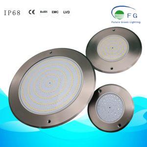 110mm/160mm/230mm/280mm de protección IP68 montado en la parte superior plana LED Lámpara de natación submarina