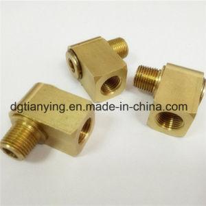 CNC de piezas de giro boquilla de tubo de latón