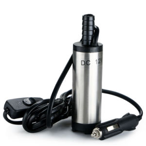 알루미늄 잠수할 수 있는 펌프 물 기름 디젤 연료 이동 12 L /min