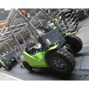 Capaciteit Diesel van 4000 Kg Vorkheftruck met de Japanse Motor van Mitsubishi