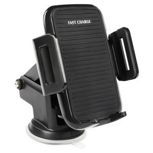 Аксессуаров для мобильных телефонов ци Сертификат владельца автомобиля зарядное устройство беспроводного телефона ресивер для установки в держатель для телефонов