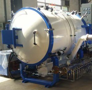 カーボン材料の熱処理の黒鉛化の炉