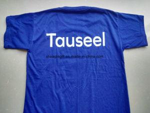 Goedkoop geef weg tonen Uw Druk van de T-shirt van de Douane van het Embleem