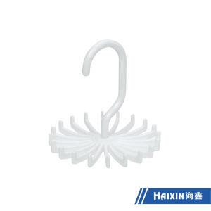 Kleidung-Aufhängungs-weiße Plastikmantel-Schal-Aufhängung