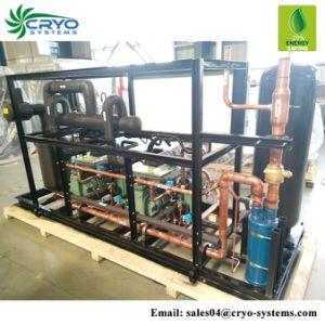 Tipo Aberto 7HP Bitzer Diagrama da Unidade de condensação de baixa temperatura unidade de refrigeração fabricantes para armazenamento a frio