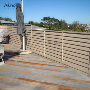 Dekorativer Garten-Bildschirm-Aluminiummetallzaun
