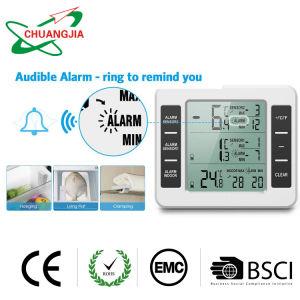 Termometro esterno dell'interno senza fili del frigorifero di Digitahi con l'allarme udibile per il congelatore