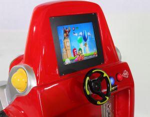 2018年のフォークリフトの子供の乗車の漫画のビデオ子供の乗車のゲーム・マシン