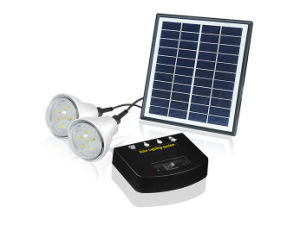 Для использования внутри помещений светодиодов высокой яркости солнечной системы освещения с зарядки телефона
