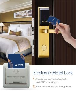 فندق إلكترونيّة [دوور لوك] [رف] [كي كرد سستم]