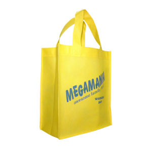 Reciclables reutilizables Ferias Eco Non-Woven Tote Bag (YH-NWB088)