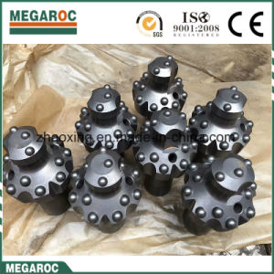 R32 T38, T45, T51, ST58, St68 Dome escariado Botón cadena Broca de