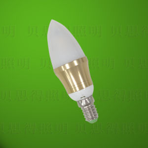 4W金ダイカストで形造るアルミニウムBentend LEDの球根ライト