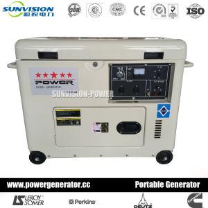 5kw Air-Cooled Générateur silencieux avec le moteur à prix compétitif