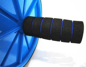Ejercicio de abdominales Ab rueda Rodillo con asas de espuma de gran agarre