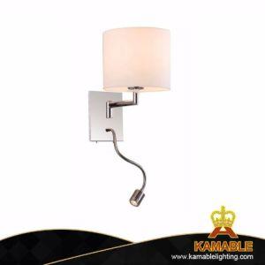 Habitación de hotel barato decoración interior moderna Lectura LED Lampara de pared
