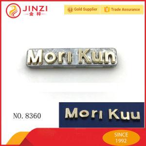 Kundenspezifisches eins nach dem anderen Alphabet-Metallfirmenzeichen