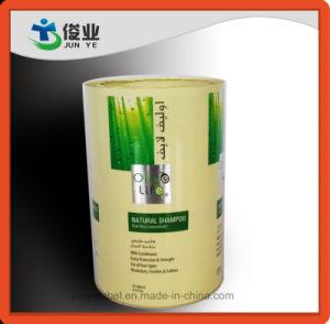 Shamboo Transeparent Impresión de etiqueta para botella y uso diario