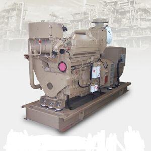 120kw/150kVA het water koelde de Mariene die Reeks van de Generator door Cummins 6CTA8.3-GM155 wordt aangedreven