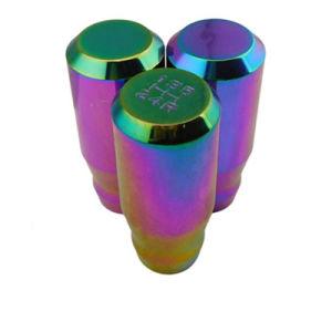 S10X1.25 Evo8 Evo9 Rx7の新クロム手動ベルト寄せシフトノブ