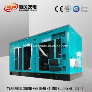 Schalldichter 500kVA Shangchai leiser elektrischer Strom-Diesel-Generator