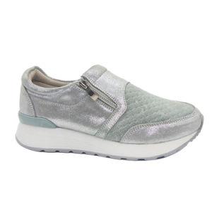 Высокое качество моды дамы Loafer повседневный кожаную обувь (YT191031-16)